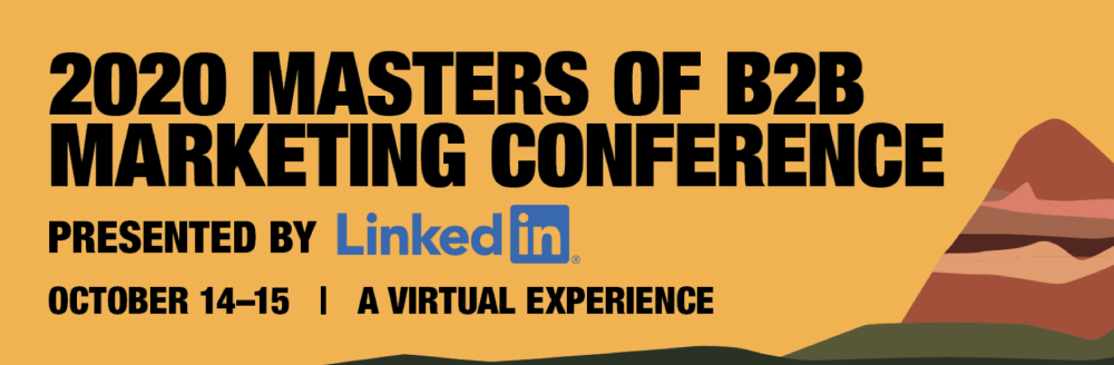 Masters of B2B Marketing Conference