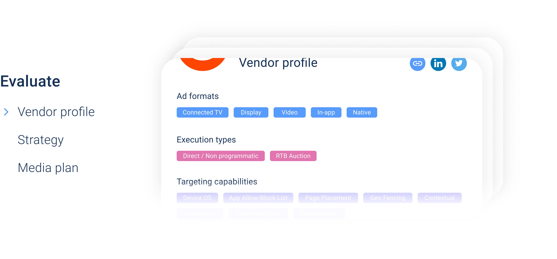 Agency RFP Scorecard - vendor profile