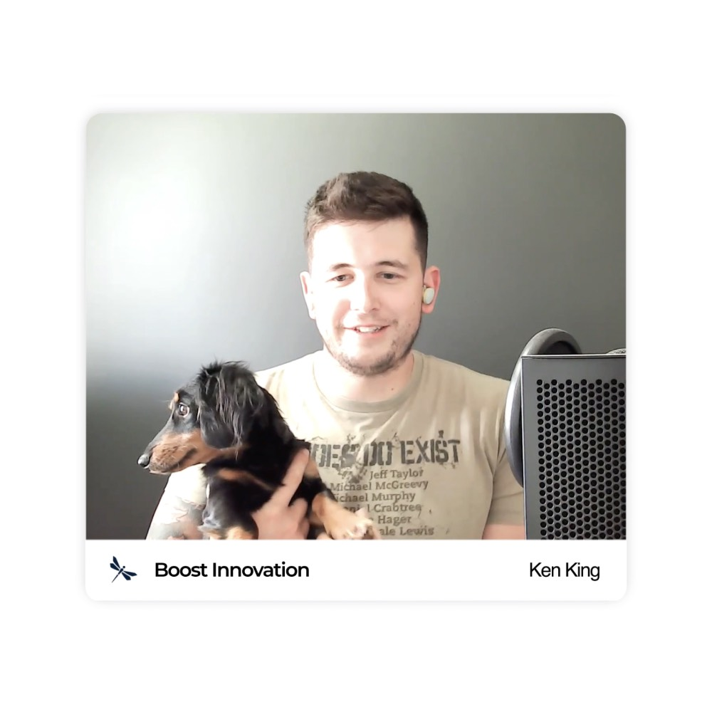 Ep.3 - Ken King (Boost Innovation) - How did you get here - Podcast by BriefBid - Preview